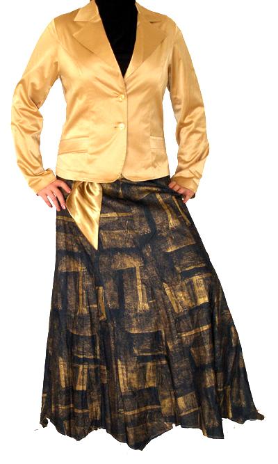 [rayannesdesign-gold+denim+skirt.jpg]