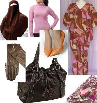 Plum Classic jilbab to fashion shows