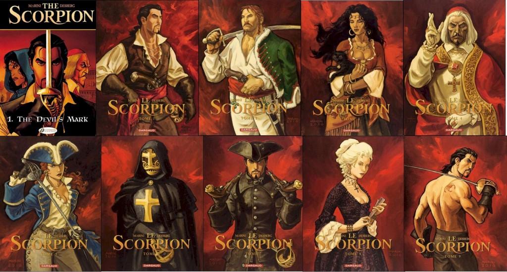 [BD] Le Scorpion SerieScorpion2010