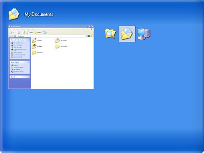 Preview mechanism for Windows XP