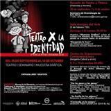 """""""La Huella de los Pájaros"""" se presenta en Teatro X la Identidad"""