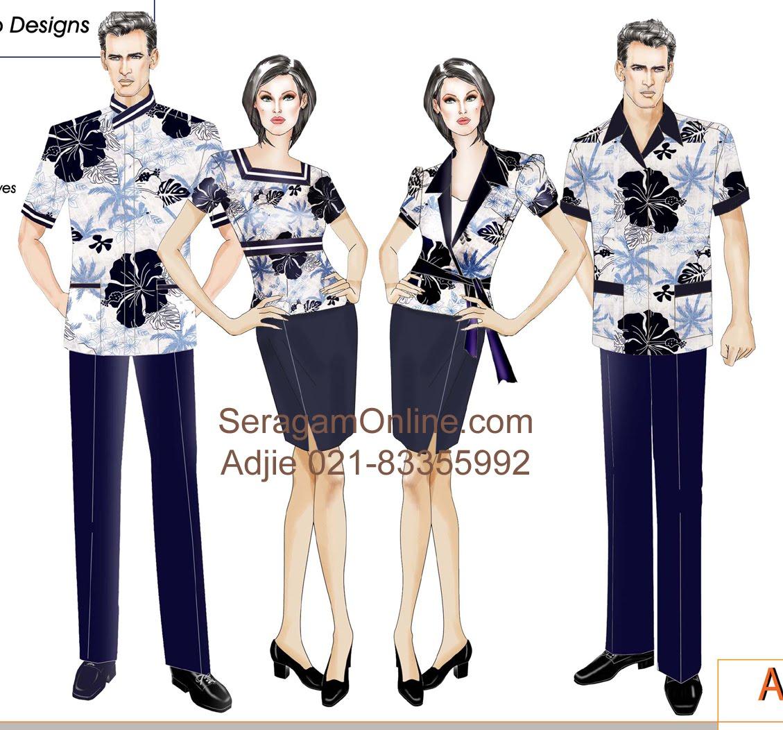 ... akan membuat Anda tampil cantik di tempat kerja dengan baju batik