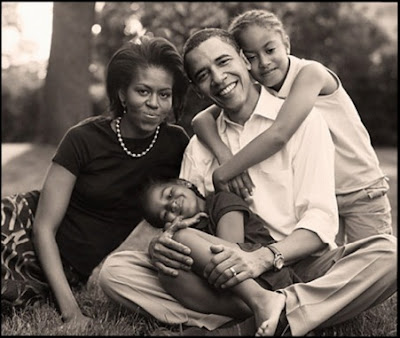president obama and family. Pictures Of President Obama