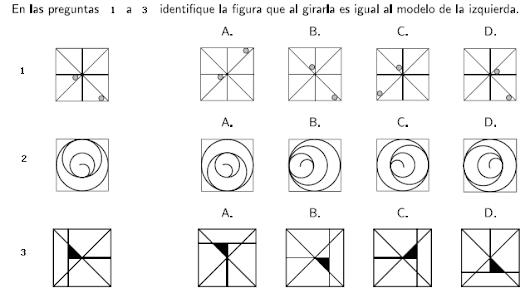 Preguntas de Análisis de Imagen en el examen de admisión de la Universidad Nacional de Colombia bajo normas DIN y ASA