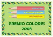 Este blog tiene el premio de Colores