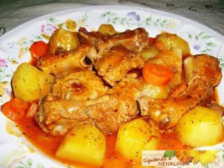 El blog de eva ebeva me encantaron vuestras patatas - Guiso de carne de cerdo ...
