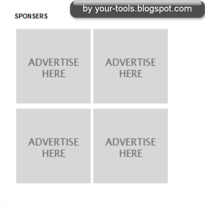 How to Add Sponsors Ads (Advertise Here Banners)