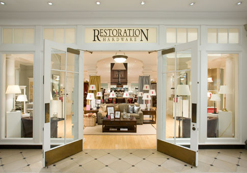 Kelleytime what up restoration hardware for Restoration hardware online shopping