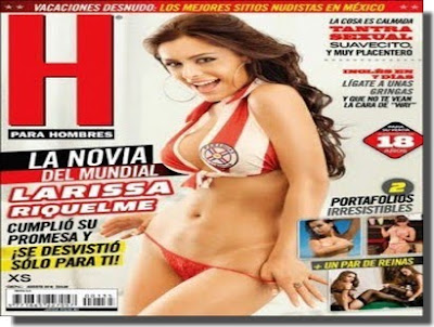 download Revista Hombre Larissa Riquelme