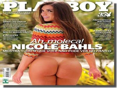 Revista Playboy - Nicole Bahls - Outubro 2010