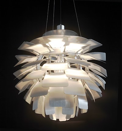 poul henningsen artichoke lamp. Black Bedroom Furniture Sets. Home Design Ideas