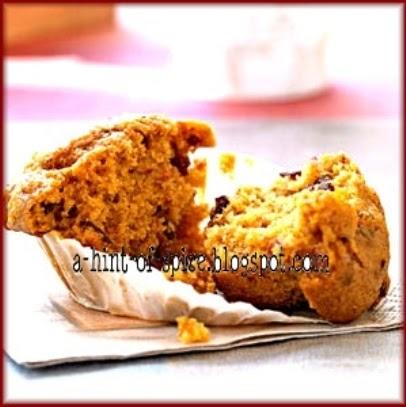 A Hint of Spice: Pumpkin Applesauce Muffins