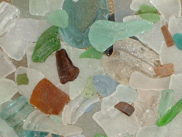 """BEACH GLASS"""