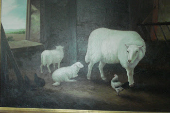 my sheep painting