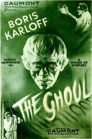 The Ghoul Vintage 1933 film poster