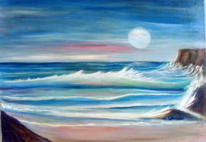 MAR ADRIATICO. OIL PAINTING.