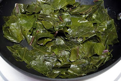 kohlrabi greens