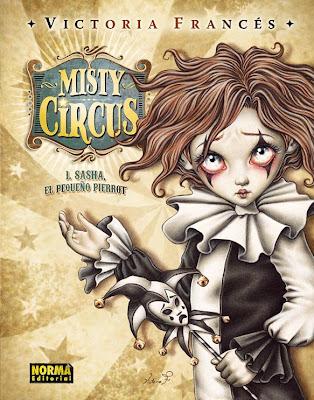 misty circus victoria frances - inspiracion volatil blog