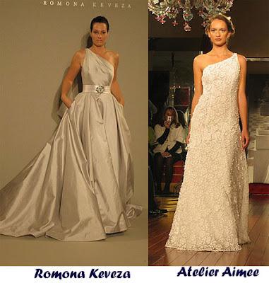 2010: свадебные платья в греческом стиле.