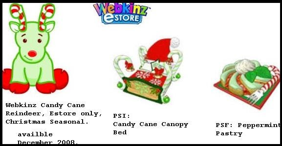 The wonderful world of webkinz christmas raindeer for Ainbowray canape