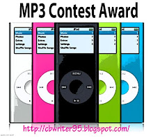 MP3 contest award. Thanks so much, Cori!!!