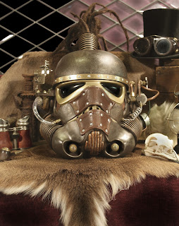 Steampunk Storm Trooper Helmet