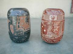 Vasos Mayas Medianos