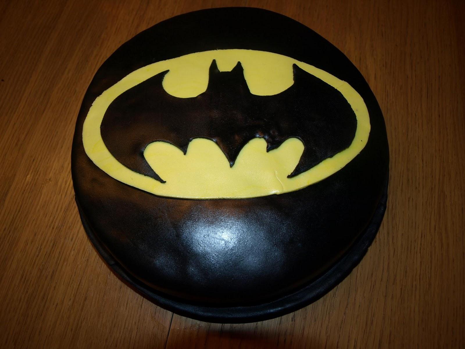 batman tårta bild