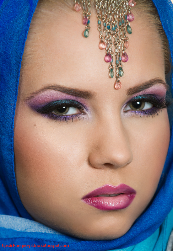 hijab styles and arabic makeup. arabic makeup looks. arabic