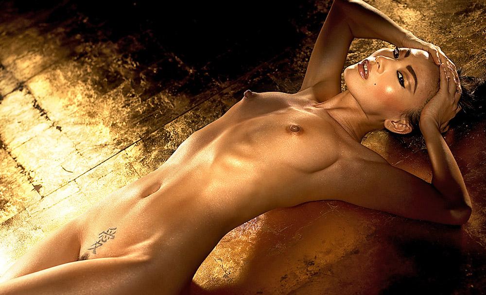 nude Bai ling