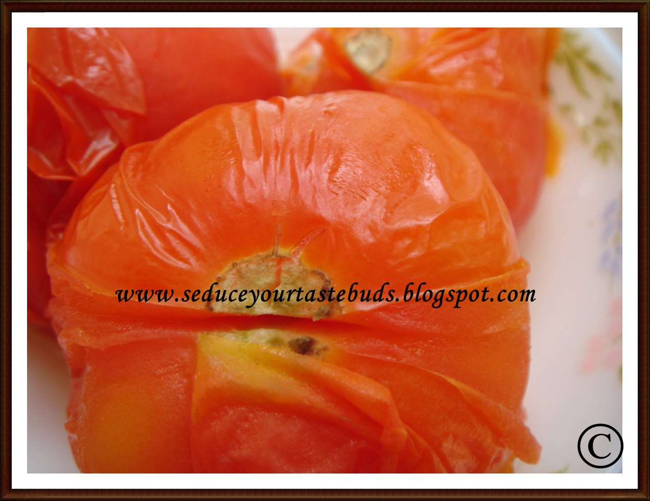 The Timing May Vary With The Brand And Also With The Quantity Of Tomatoes  Used You Can See From The Pic Above,these Tomatoes Can Be Easily Peeled  And