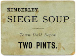 Soup ration ticket from the siege of Kimberley