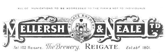 Mellersh & Neale's letterhead design 1899 for the newly formed company.