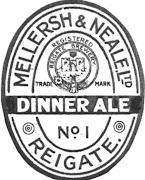 No 1 Dinner Ale c1919