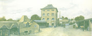 Artists impression of the Brewery Yard, c1920.