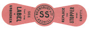 Bransbury neckstrap for Single Stout c1906-1913