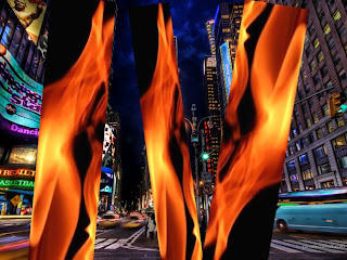 IMAGE IF TIMES SQUAREIS BOMBED, bombing attempt in times square new york