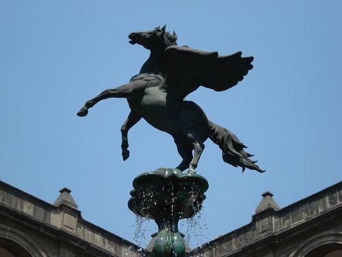 Estatua de Pegaso