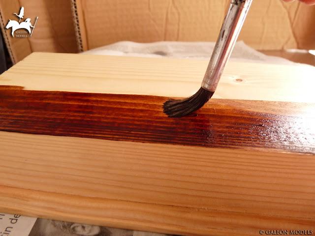 Teñido de la madera
