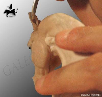 Modelado de las orejas