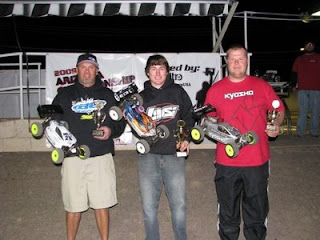 In the Intermediate Buggy A-main, Cody Rothe ran away with the win finishing over a lap ahead of 2nd place.