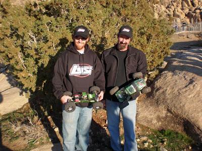 Jake Wright and Brian Jones at Rnd. 3 of the SoCal Rock Crawling Series