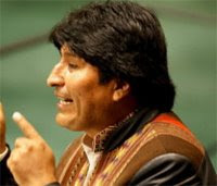 "Evo Morales to U.N.: ""Let Us Respect Our Mother Earth"""