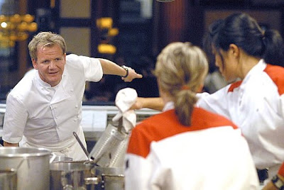 this week begins as usual with a challenge of course the gals arent happy that ji went and they wish that it had been lacey andreawho i do not like - Hells Kitchen Season 5