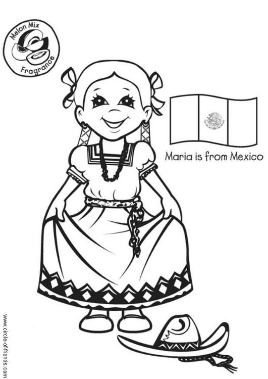 Imagenes de danza folklorica mexicana para colorear - Imagui