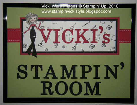 Stamping and Scrapping with Vicki