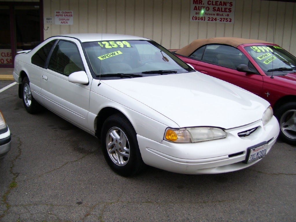 mr cleans auto sales 1997 ford thunderbird sold. Cars Review. Best American Auto & Cars Review