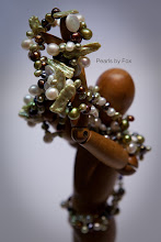 Green & Copper Pearls Set