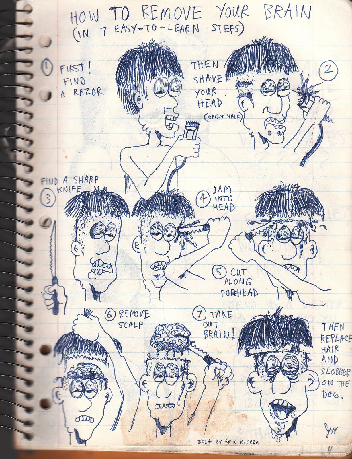 HUNGRY COMIX: HIGH SCHOOL DOODLES~ DAY SIXTY-ONE~!