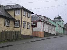 Calle Pudeto Ancud Isla de Chiloé